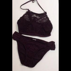 Mossimo purple bikini
